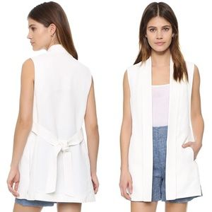 Club Monaco Palmisa Open Sleeveless Vest